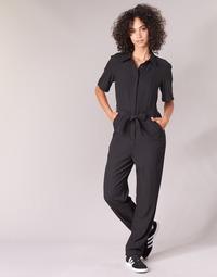 Textil Mulher Macacões/ Jardineiras G-Star Raw BRISTUM DC JUMPSUIT Preto