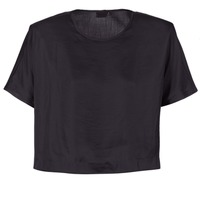 Textil Mulher Tops / Blusas G-Star Raw COLLYDE WOVEN TEE Preto