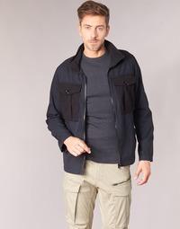 Textil Homem Jaquetas G-Star Raw TYPE C UTILITY PM OVERSHIRT Preto