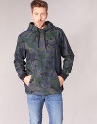 Textil Homem Jaquetas G-Star Raw STOR ANORAK OVERSHIRT Azul / Verde
