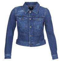 Textil Mulher casacos de ganga G-Star Raw D-STAQ DC DNM Azul / Ganga