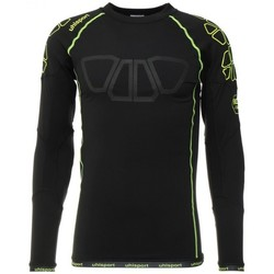 Textil Homem T-shirt mangas compridas Uhlsport Bionikframe Baselayer Black-Fluor yellow