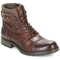 Sapatos Homem Botas baixas Jack & Jones ALBANY LEATHER Castanho