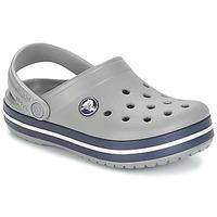 Sapatos Criança Tamancos Crocs CROCBAND CLOG K Cinza / Marinho