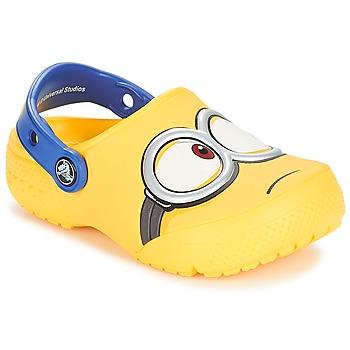Sapatos Criança Tamancos Crocs CROCS FUNLAB MINIONS CLOG Amarelo