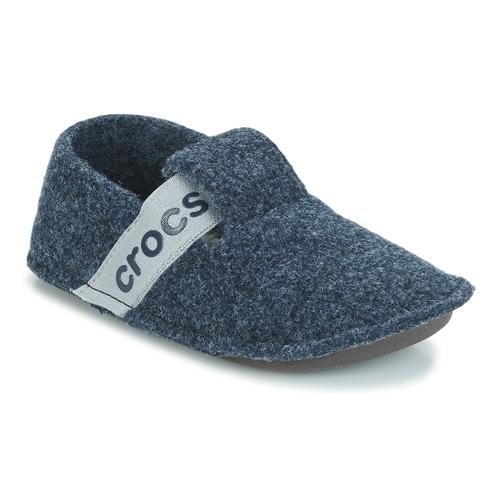 Sapatos Criança Chinelos Crocs CLASSIC SLIPPER K Marinho