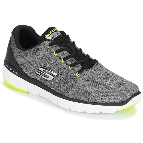 Sapatos Homem Fitness / Training  Skechers FLEX ADVANTAGE 3.0 Cinza