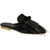 Sapatos Mulher Tamancos Gia Couture VENUS SATIN B nero