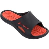 Sapatos Homem chinelos Rider Bay Vii Preto,Vermelho