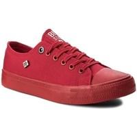Sapatos Mulher Sapatilhas Big Star AA274007 Vermelho