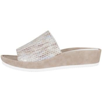 Sapatos Mulher Chinelos Ara Tivoli Branco, Cor bege