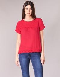 Textil Mulher Tops / Blusas Betty London JALILI Vermelho
