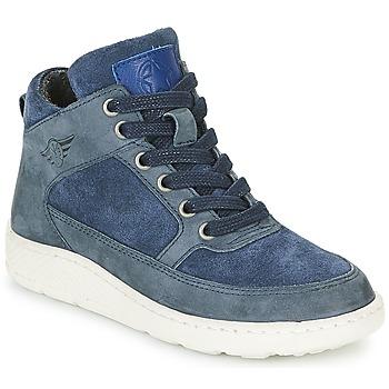 Sapatos Rapaz Sapatilhas de cano-alto Bullboxer LAVINO Azul