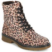 Sapatos Rapariga Botas baixas Bullboxer LANA Leopardo
