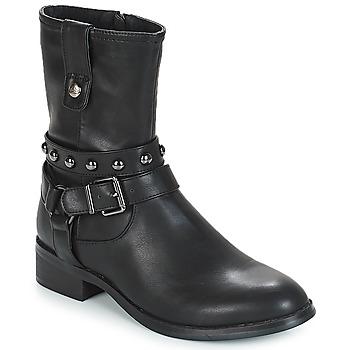 Sapatos Mulher Botas baixas Les Petites Bombes LOUNA Preto