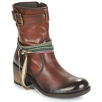 Sapatos Mulher Botins Felmini URRACO Castanho