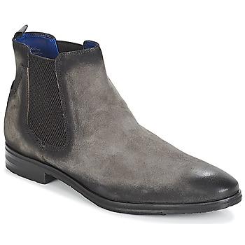 Sapatos Homem Botas baixas Daniel Hechter ZAFILO Cinza