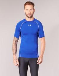 Textil Homem T-Shirt mangas curtas Under Armour UA HG ARMOUR SS COMPRESSION Azul