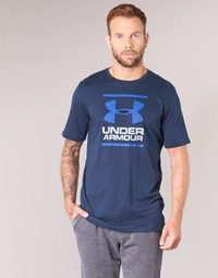 Textil Homem T-Shirt mangas curtas Under Armour UA GL FOUNDATION SS T Marinho