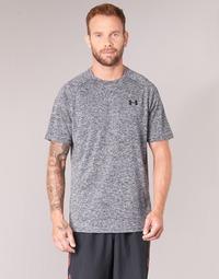 Textil Homem T-Shirt mangas curtas Under Armour UA TECH SS TEE Cinza