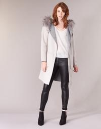 Textil Mulher Casacos Oakwood YALE BI Bege / Cinza