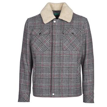 Textil Homem Casacos Benetton MADRILA Cinza