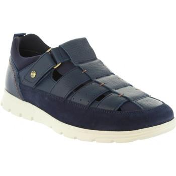 Sapatos Homem Sandálias Panama Jack DONOVAN C2 NAPA MARINO Azul