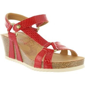 Sapatos Mulher Sandálias Panama Jack VIOLETTA SNAKE CHAROL B1 Rojo