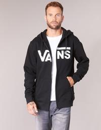 Textil Homem Sweats Vans VANS CLASSIC ZIP HOODIE Preto
