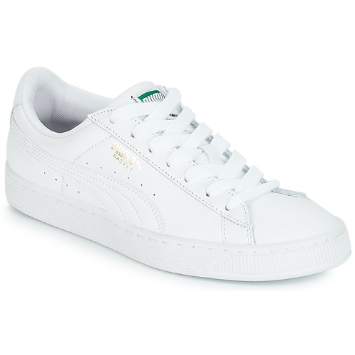 Puma Basket Classic LFS White | Shoes in 2019 | Puma basket