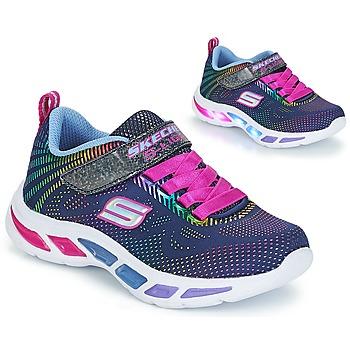 Sapatos Rapariga Sapatilhas Skechers LITEBEAMS Navy