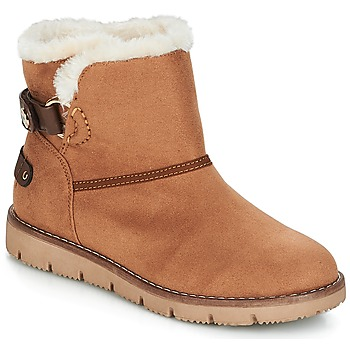Sapatos Mulher Botas baixas Tom Tailor SIDYA Camel