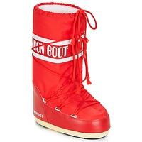 Sapatos Mulher Botas de neve Moon Boot NYLON Vermelho