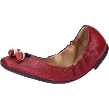 Sapatos Mulher Sabrinas Bally Shoes ballerine rosso pelle BY33 Rosso