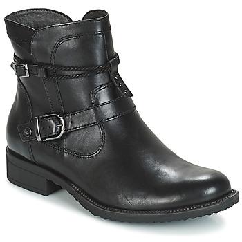 Sapatos Mulher Botas baixas Tamaris ANOUK Preto