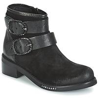 Sapatos Mulher Botas baixas Mimmu MYLANN Preto