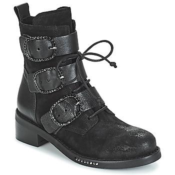 Sapatos Mulher Botas baixas Mimmu MOEZ Preto