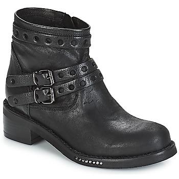 Sapatos Mulher Botas baixas Mimmu MAIRON Preto