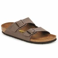 Sapatos Homem Chinelos Birkenstock ARIZONA Castanho