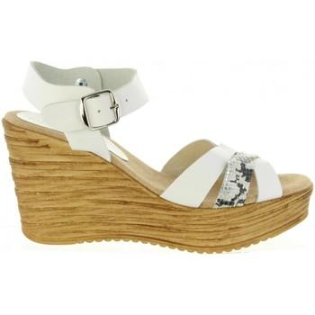 Sapatos Mulher Sandálias Cumbia 31001 Blanco