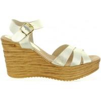 Sapatos Mulher Sandálias Cumbia 31001 Gold