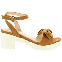Sapatos Mulher Sandálias Chika 10 FIONA 01 Marrón