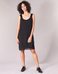 Textil Mulher Vestidos curtos Naf Naf KLOE R1 Preto