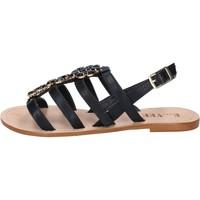 Sapatos Mulher Sandálias E...vee BY184 Preto