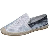 Sapatos Mulher Mocassins Sara Lopez Alpargatas BY241 Prata