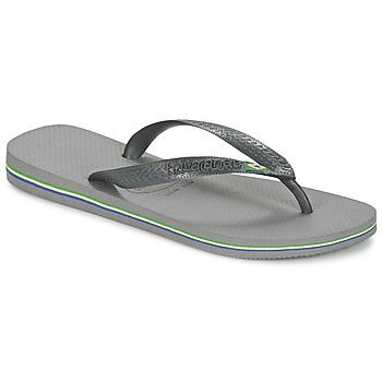 Sapatos Chinelos Havaianas BRASIL Cinza