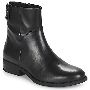 Sapatos Mulher Botas baixas Vagabond CARY Preto