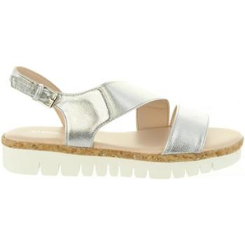 Sapatos Mulher Sandálias Chika 10 IDOIA 01 Plateado