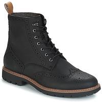 Sapatos Homem Botas baixas Clarks BATCOMBE Preto