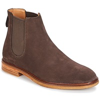 Sapatos Homem Botas baixas Clarks Clarkdale Gobi Escuro / Castanho